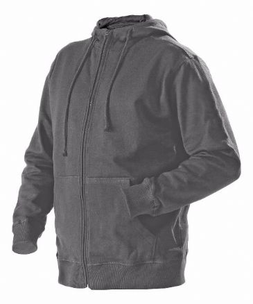 Blaklader 3366 Full Zipped Sweatshirt With Hood (Grey)